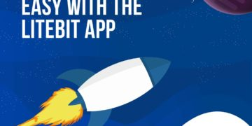 Gratis LiteBit app voor iPhone iOS